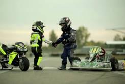 Fast Racer Kids Kart vs Minimoto 22