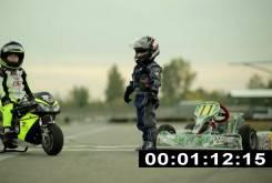 Fast Racer Kids Kart vs Minimoto 24