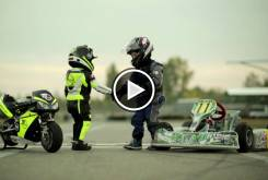 Play Fast Racer Kids Kart vs Minimoto 22