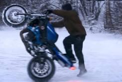 Stunt nieve
