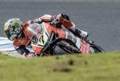 Chaz Davies Ducati WSBK Australia 2016Motorbike Magazine