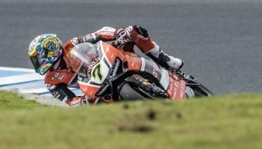 Chaz Davies Ducati WSBK Australia 2016 - Motorbike Magazine