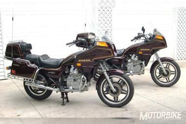Honda GL500 Silver Wing 1982