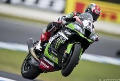 Jonathan Rea Kawasaki Phillip Island WSBK Australia 2016 - Motorbike Magazine