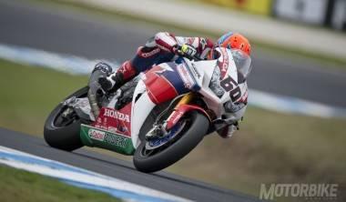 Michael Van der Mark Honda WSBK Australia 2016 - Motorbike Magazine