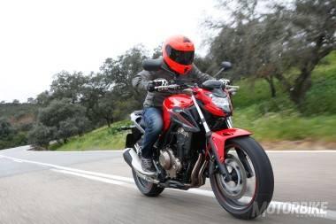 Prueba Honda CB 500 F 2016