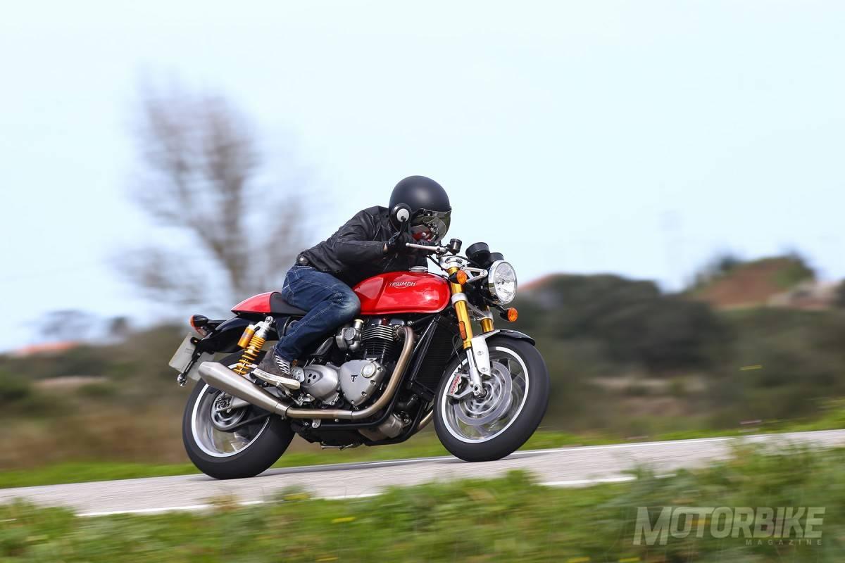 Prueba Triumph Thruxton R 1200 2016
