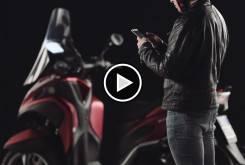 Samsung pantalla inteligente Yamaha Tricity 00