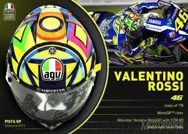 Casco Valentino Rossi 2016