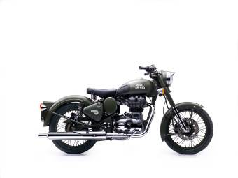 royal enfield bullet classic battle green