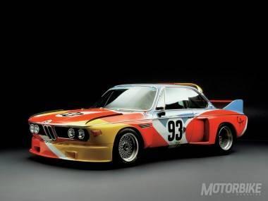 BMW 3.0 CSL Art Car Alexander Calder 1975