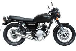 Hanway Raw 125 Cafe Racer black
