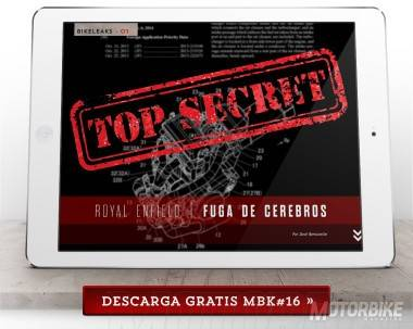 Royal Enfield - Top Secret - Motorbike Magazine 16