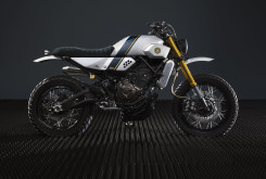 Yamaha XSR700 Yard Built Bunker Custom 10