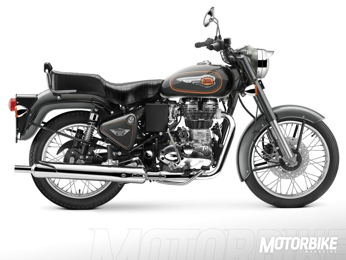 royal enfield Bullet 500 Marsh Grey
