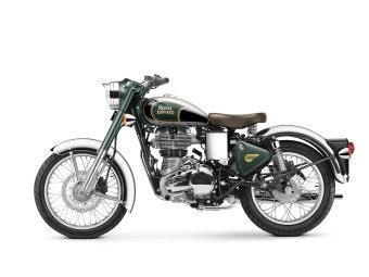 royal enfield Classic Chrome 500 Green
