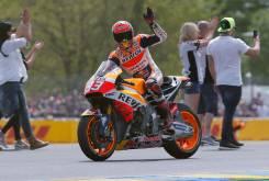 Caida Marc Marquez - GP Francia 2016