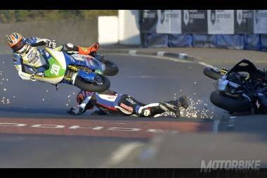Grave caída de Ryan Farquhar en la North West 200