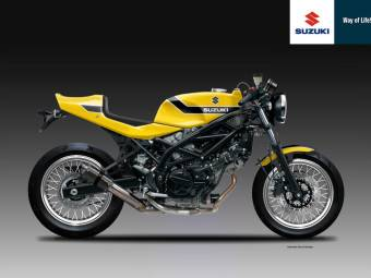 SUZUKI SV 650 CR YELLOW WEAPON