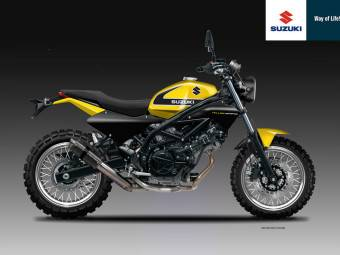 SUZUKI SV 650 SC YELLOW WEAPON