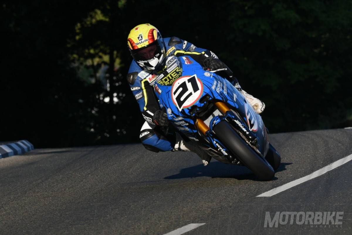 TT Isla de Man Ian Lougher