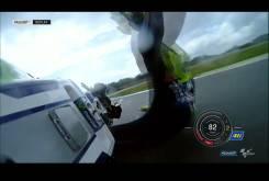 Caída Valentino Rossi GP Assen 2016 005
