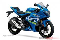Suzuki gsx r250 speculative rendering