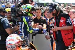 Valentino Rossi y Marc Marquez GP Catalunya 2016 01