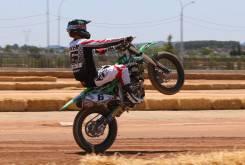 Brad Baker RFME Campeonato Espana Flat Track