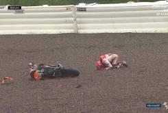 Caida Marc Marquez Sachsenring 2016 01