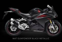 Honda CBR300RR 2017 Color negro mate