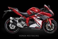 Honda CBR300RR 2017 Color rojo