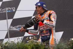 Marc Marquez Sachsenring 2016 Podio 01