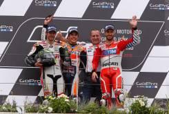 Marc Marquez Sachsenring 2016 Podio