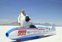 Sam Wheeler accidente record de velocidad