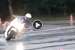 policia moto entrenamiento play
