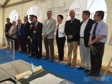Acto presentacion Obras Circuito de Tenerife - 2