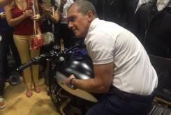 Antonio Banderas Triumph T100 Macco Motors 03