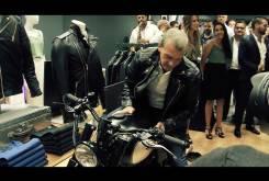 Antonio Banderas Triumph T100 Macco Motors 06