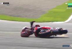 Caída Marc Márquez FP3 Austria 21