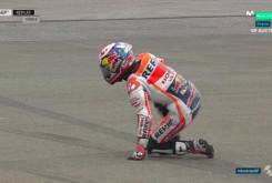 Caida Dani Pedrosa FP1 Austria 11