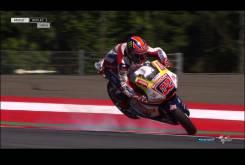 Caida Sam Lowes Austria Moto2 2016 005