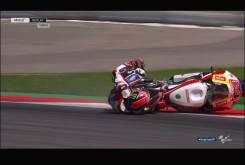 Caida Sam Lowes Austria Moto2 2016 016