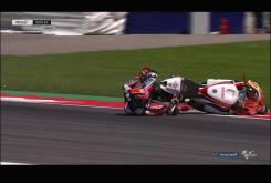 Caida Sam Lowes Austria Moto2 2016 020