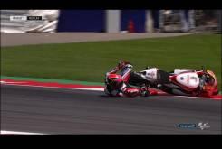 Caida Sam Lowes Austria Moto2 2016 021