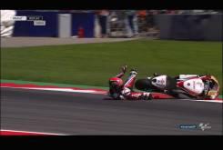 Caida Sam Lowes Austria Moto2 2016 022