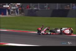 Caida Sam Lowes Austria Moto2 2016 024