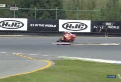 Caida salvada Marc MarquezFP2 Brno 201610