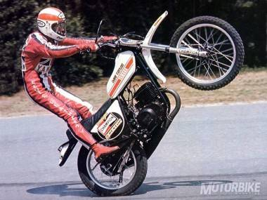 Dave Taylor - The Wheelie King - Yamaha XT500