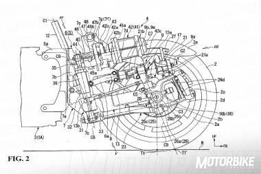 Honda Neowing tren delantero asistencia electronica